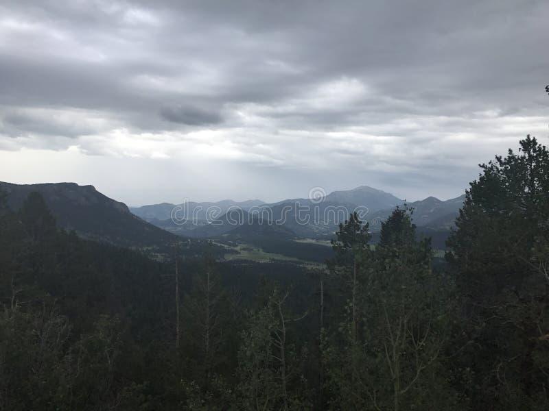 落矶山脉国家森林 免版税图库摄影