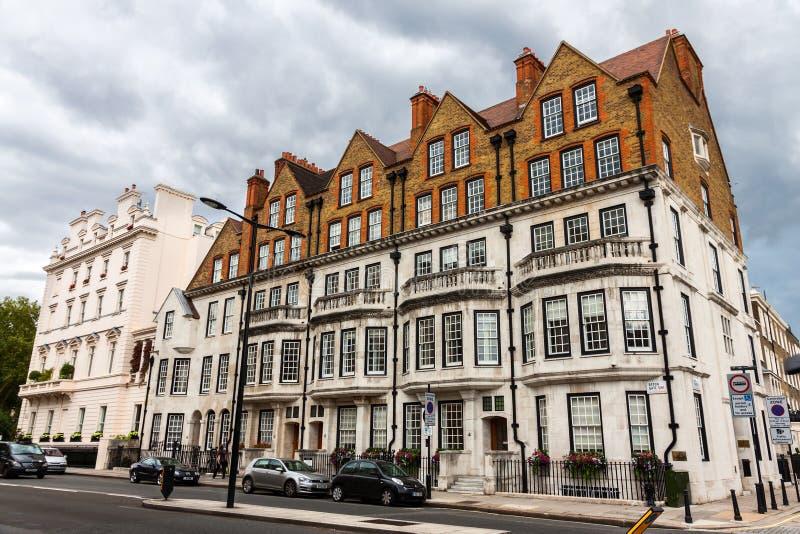著名切尔西区在伦敦 库存图片