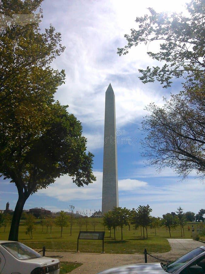 著名华盛顿纪念碑 图库摄影