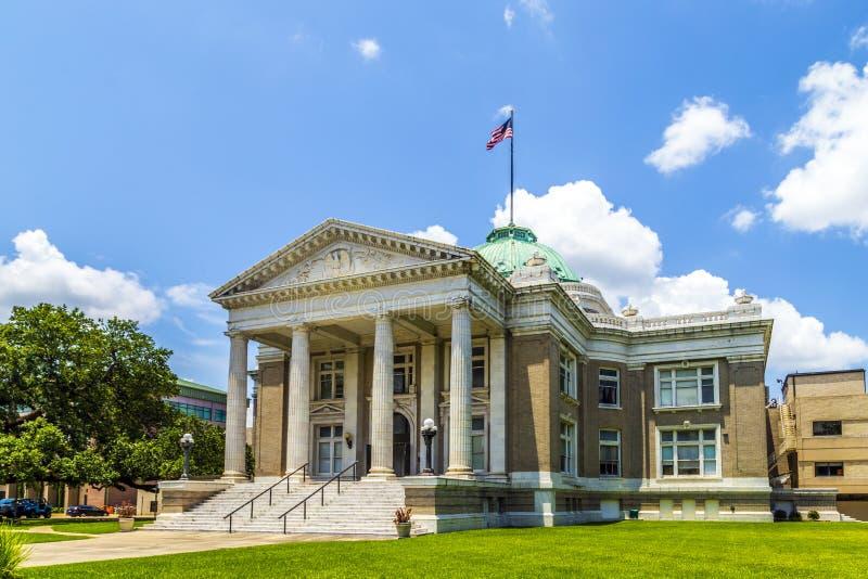 著名历史的市政厅在湖 免版税库存照片