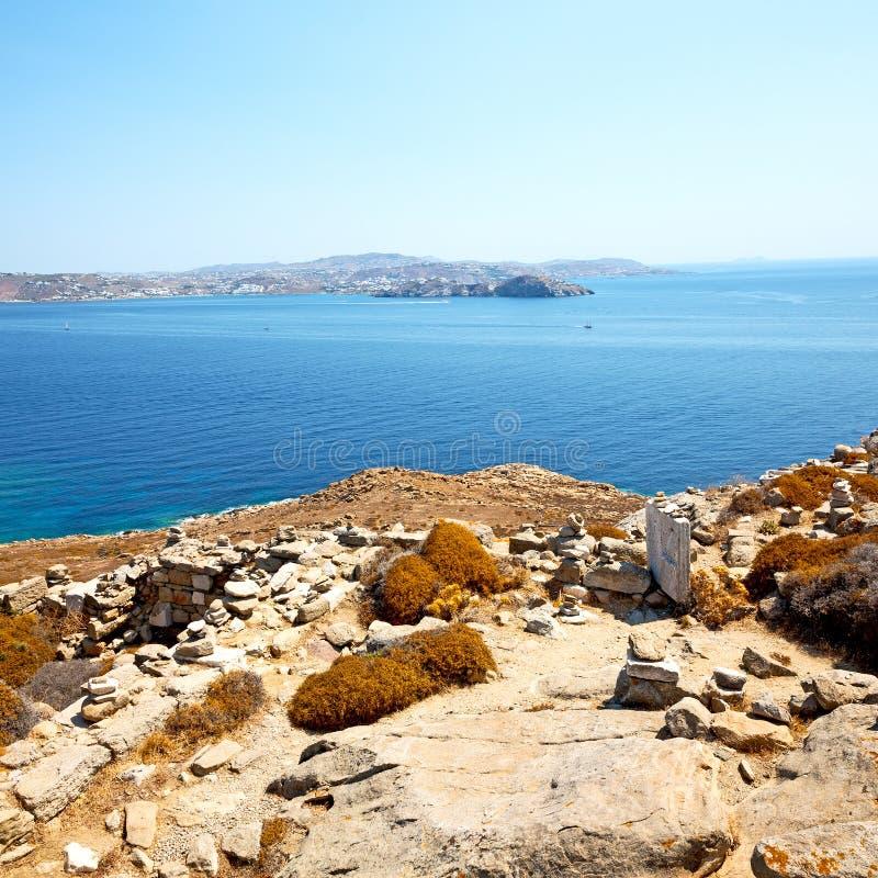 Download 著名在delos希腊historycal上城和老废墟s 库存照片 - 图片 包括有 希腊语, 地标: 62537168