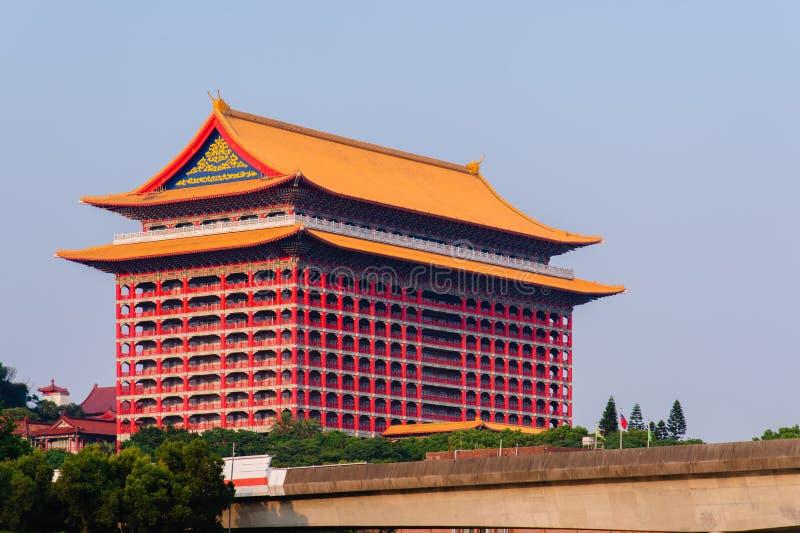 著名地标在台北,台湾 免版税库存图片