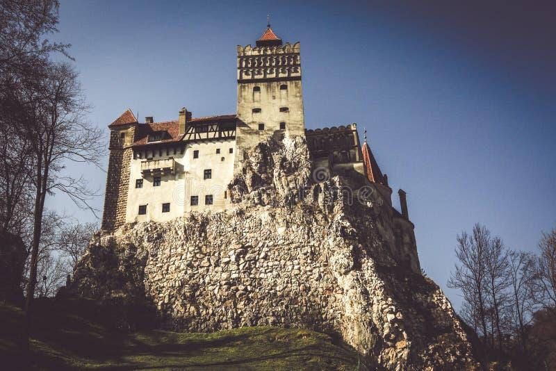 著名德雷库拉城堡麸皮 库存图片