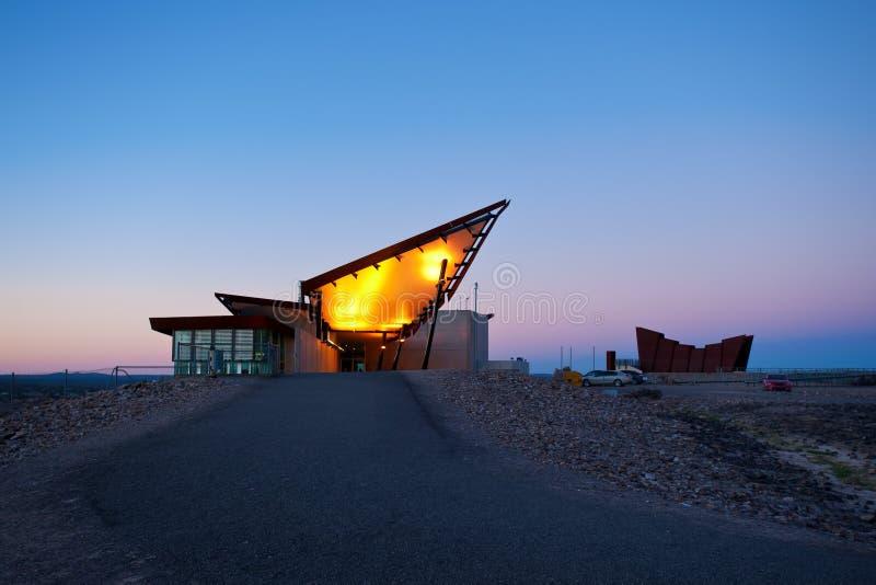 著名旅游胜地在布洛肯希尔,澳大利亚 库存图片