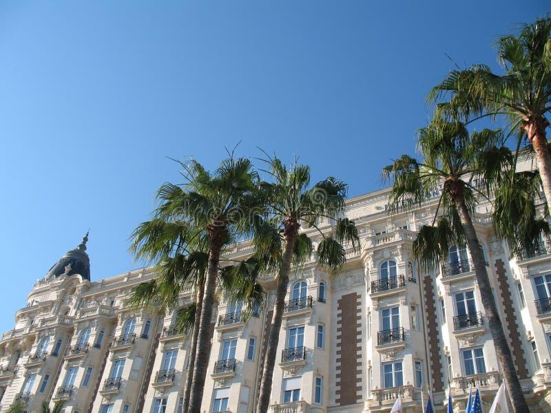 著名法语安置里维埃拉 免版税库存图片