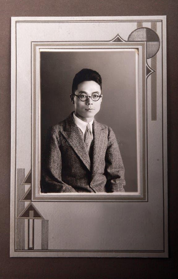 著名的绅士 库存照片