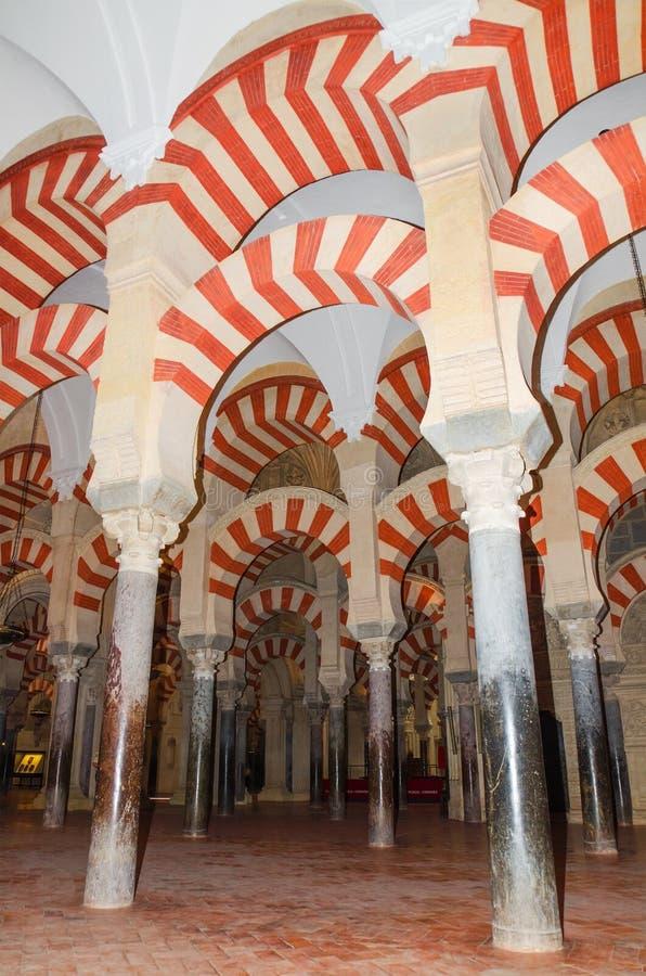 著名科多巴清真寺,科多巴,西班牙 库存图片
