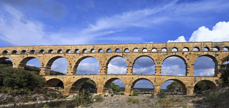 著名罗马桥梁 免版税库存图片