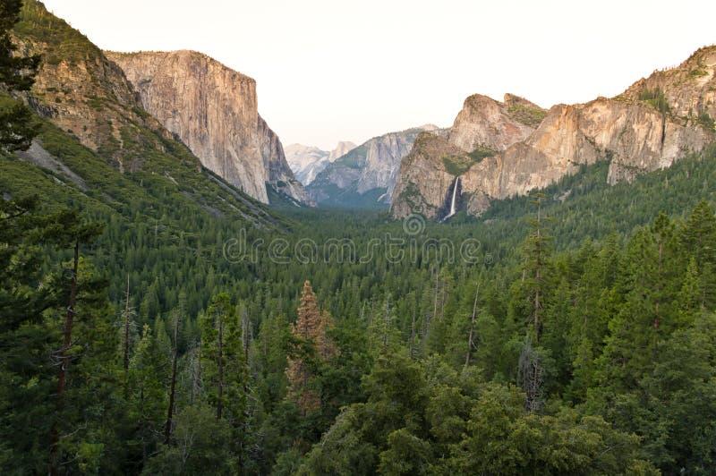 著名El Capitan 库存照片