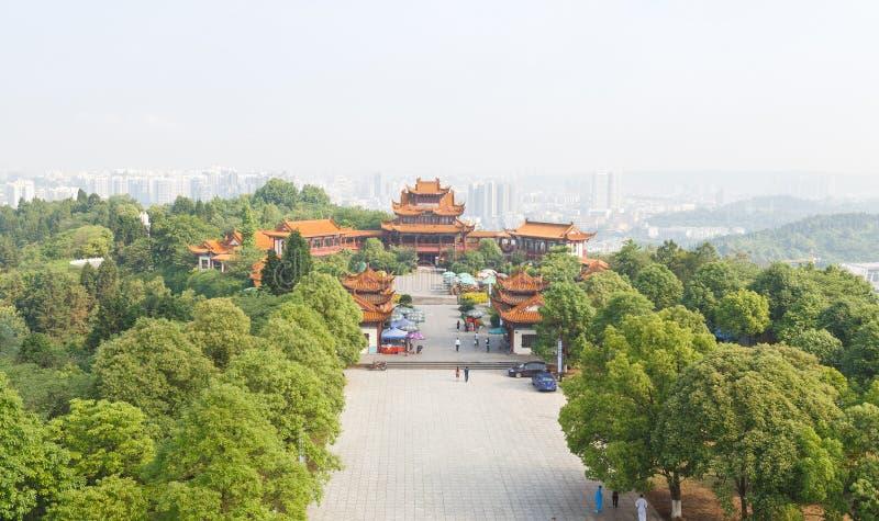 著名fule寺庙 免版税库存图片