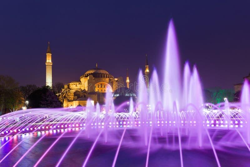 著名hagia伊斯坦布尔sophia 伊斯坦布尔,土耳其 库存照片