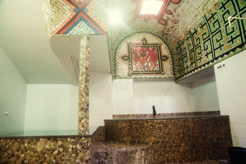 著名Tiflis浴 免版税库存图片