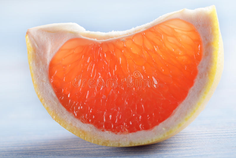 葡萄柚片式 库存图片