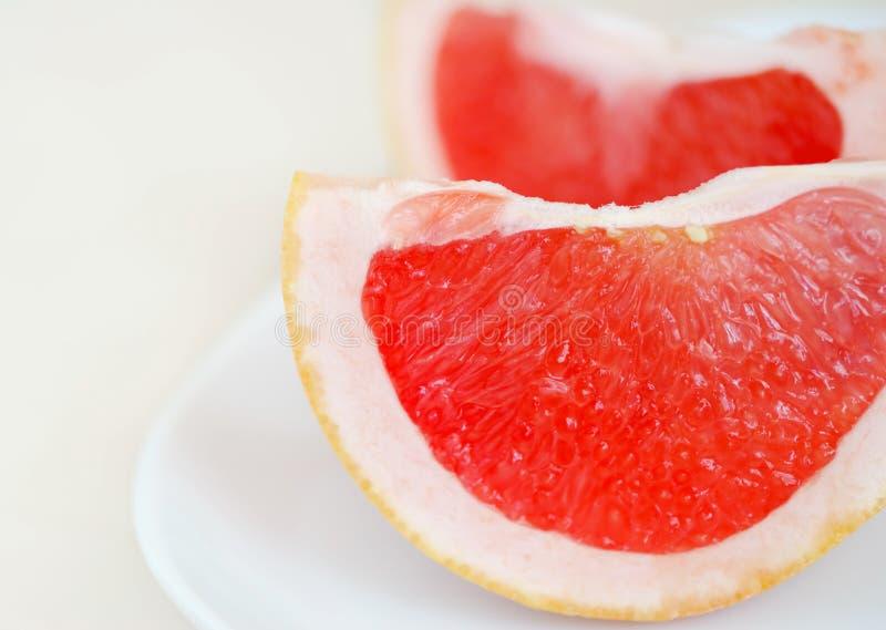 葡萄柚片式 免版税库存照片