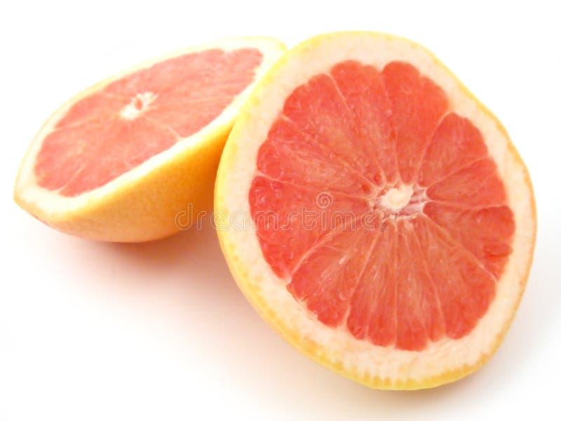 葡萄柚红色红宝石 库存图片