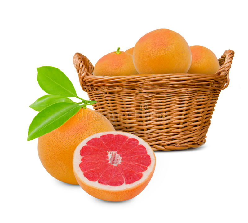 葡萄柚 免版税库存照片