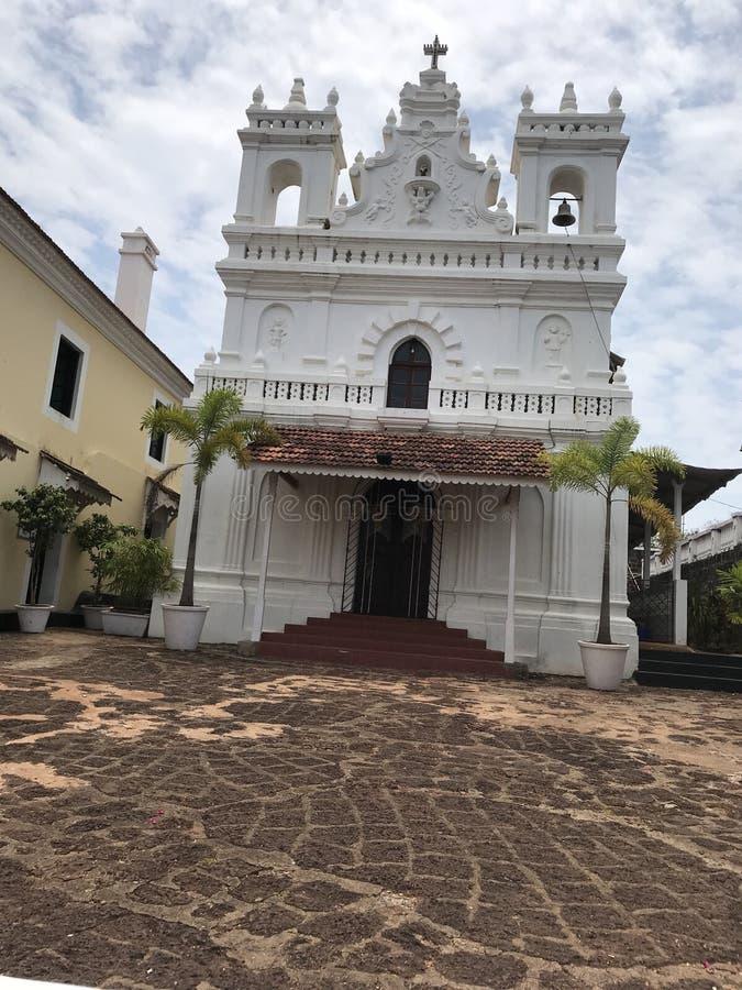 葡萄牙教会 库存照片