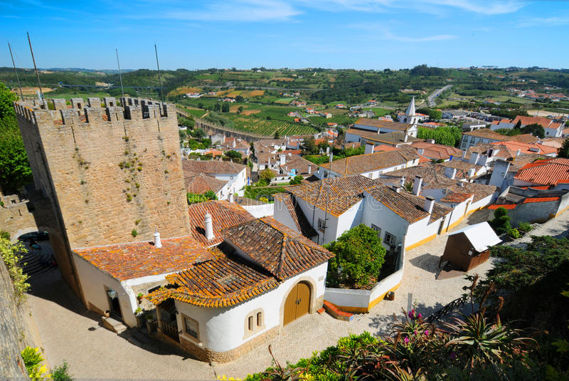葡萄牙村庄 库存图片