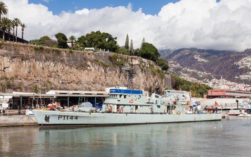 葡萄牙海军巡逻艇 库存图片