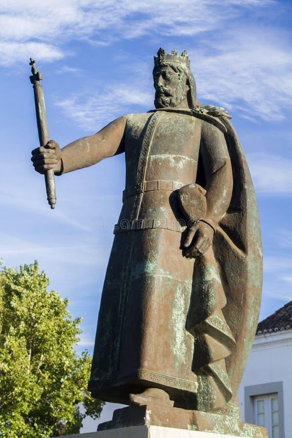 葡萄牙的第一位国王 免版税库存图片