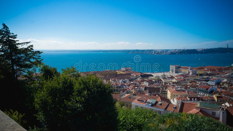葡萄牙的风景在欧洲 免版税库存照片