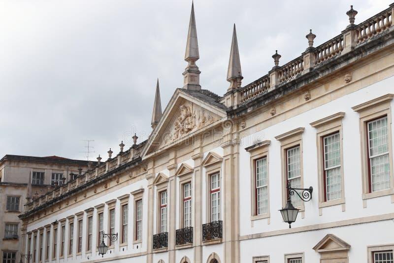 葡萄牙科英布拉大学 免版税库存图片