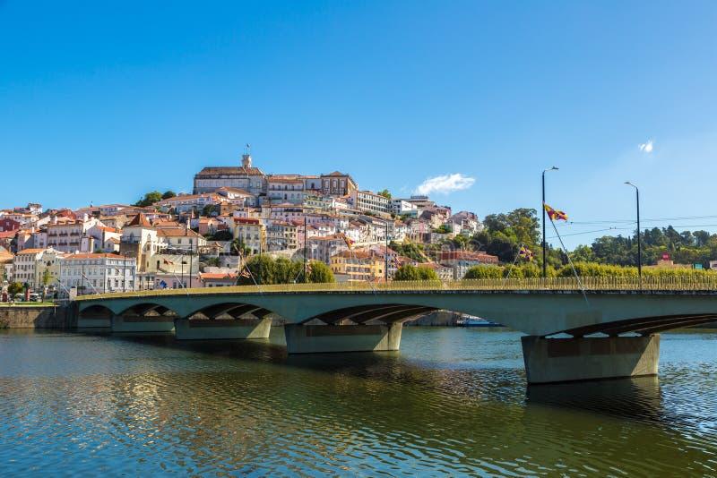 葡萄牙科英布拉老城 图库摄影