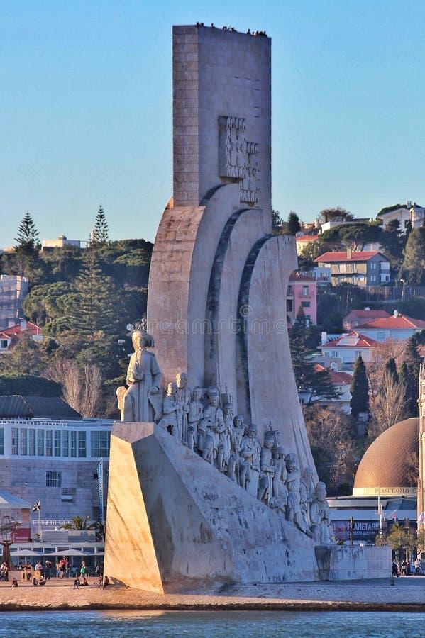 葡萄牙纪念碑 免版税库存照片