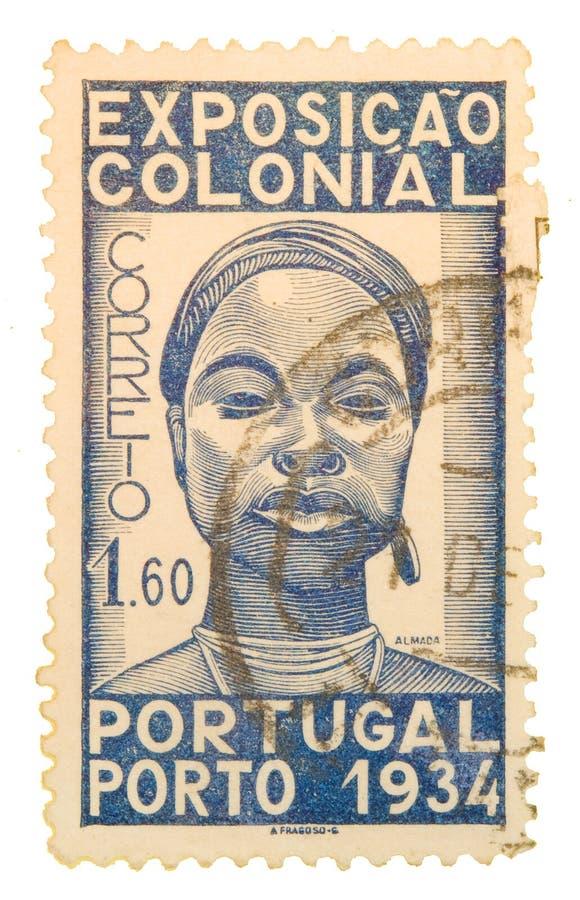 葡萄牙邮票葡萄酒 免版税库存图片