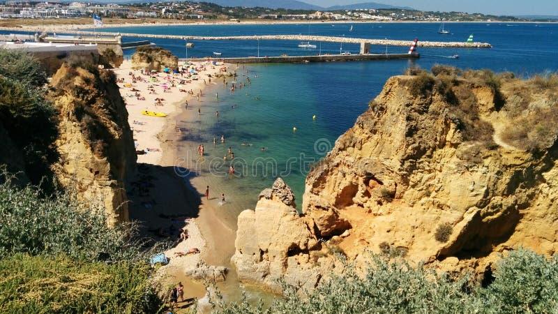 葡萄牙阿尔加威 库存照片