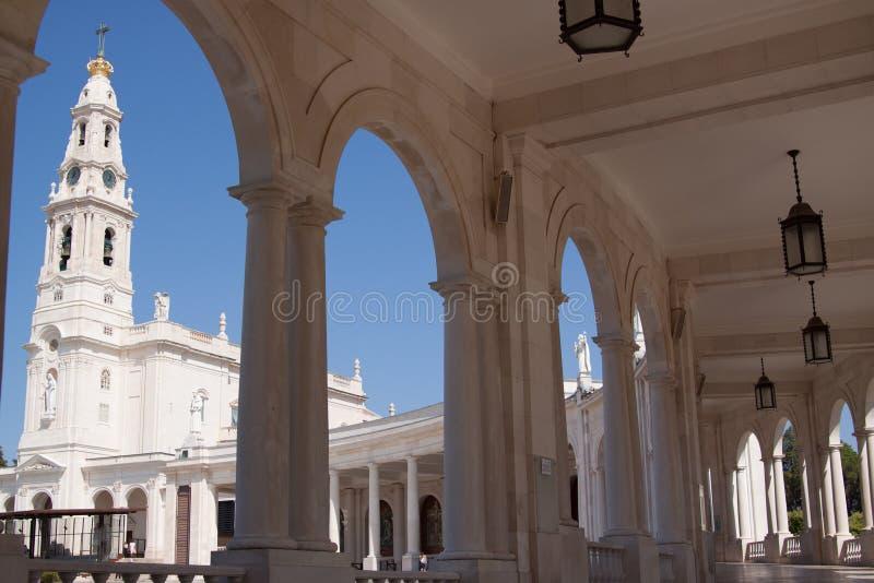葡萄牙, Fatima圣所 免版税库存照片