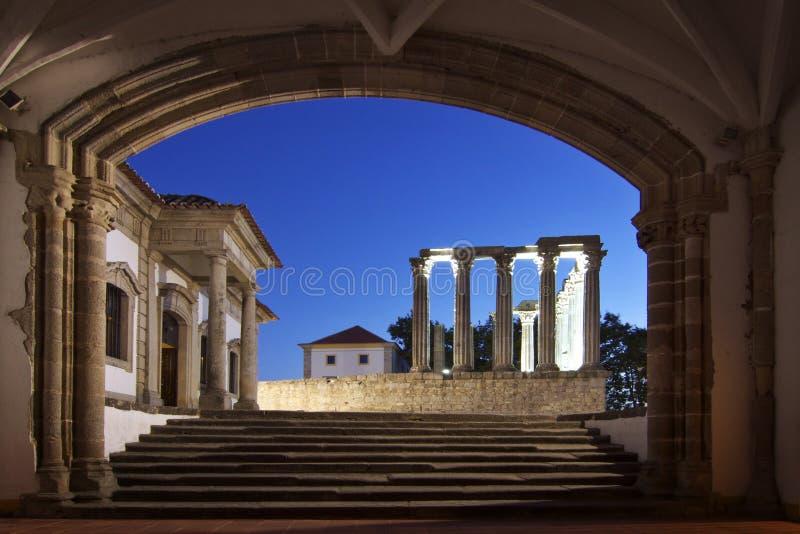 葡萄牙:埃武拉 免版税库存照片
