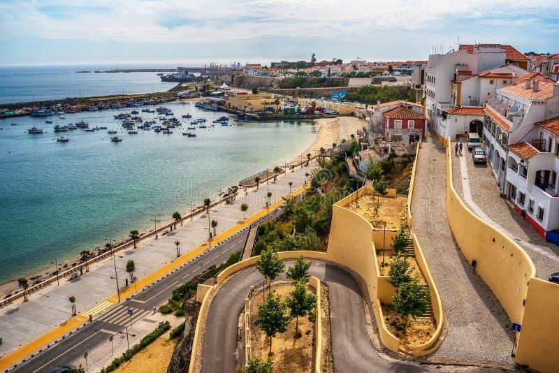 葡萄牙:正弦老镇  库存照片