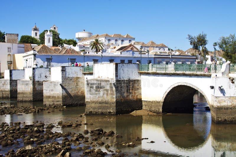 葡萄牙:Tavira 库存照片
