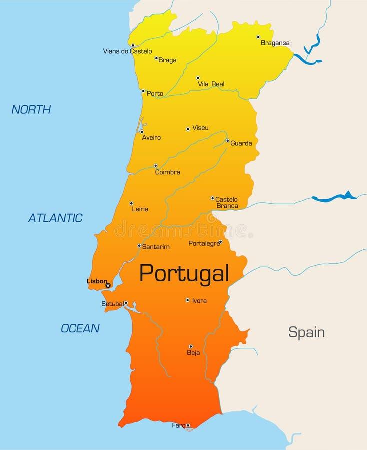 葡萄牙 向量例证