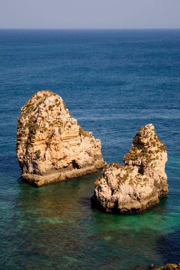 葡萄牙Algarve海滩 库存图片