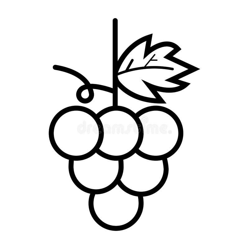 葡萄象食物果子 皇族释放例证