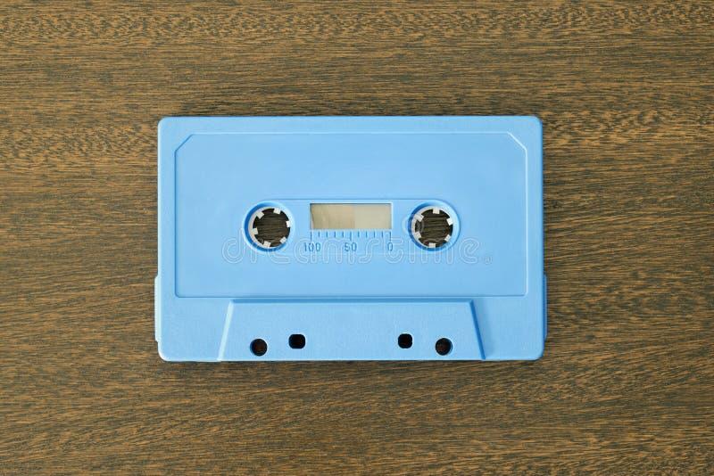 葡萄酒卡型盒式录音机磁带 免版税图库摄影