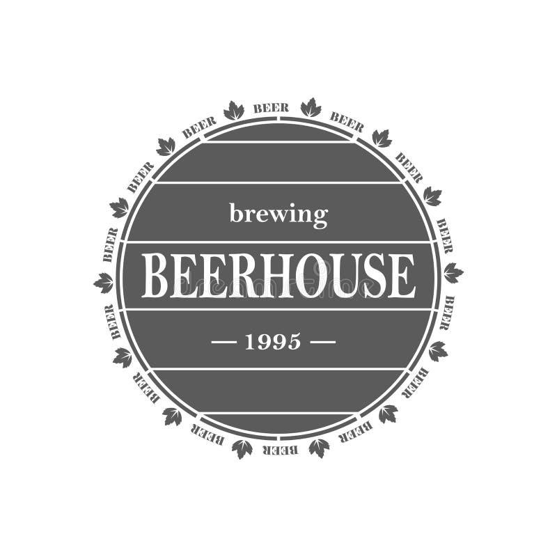 葡萄酒啤酒象征 皇族释放例证