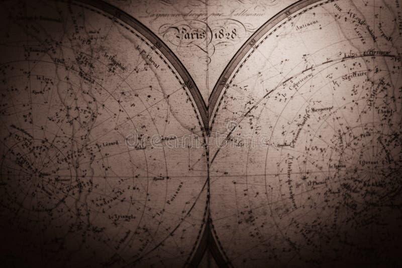 葡萄酒地图 库存例证