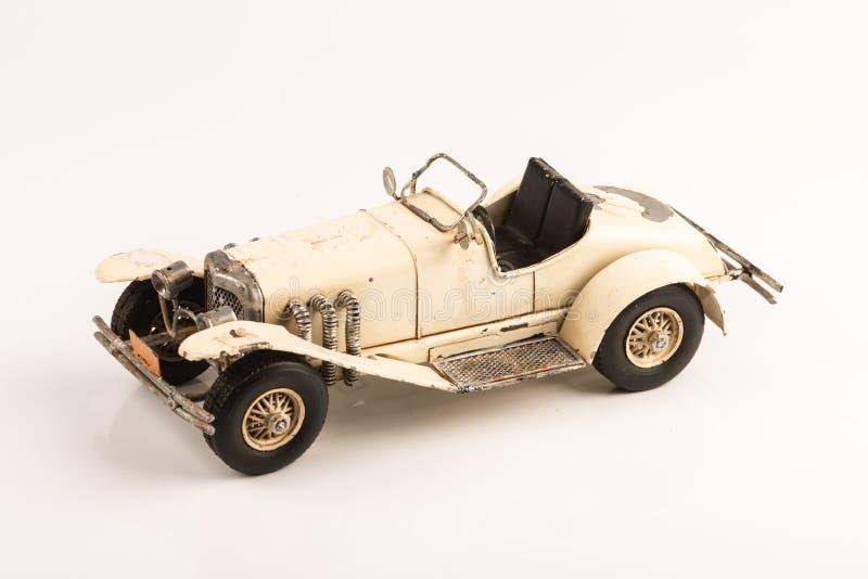 葡萄酒小轿车汽车玩具 免版税库存照片