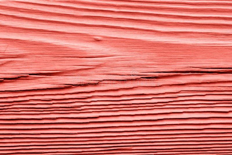 葡萄酒居住的珊瑚木纹理 抽象背景 图库摄影