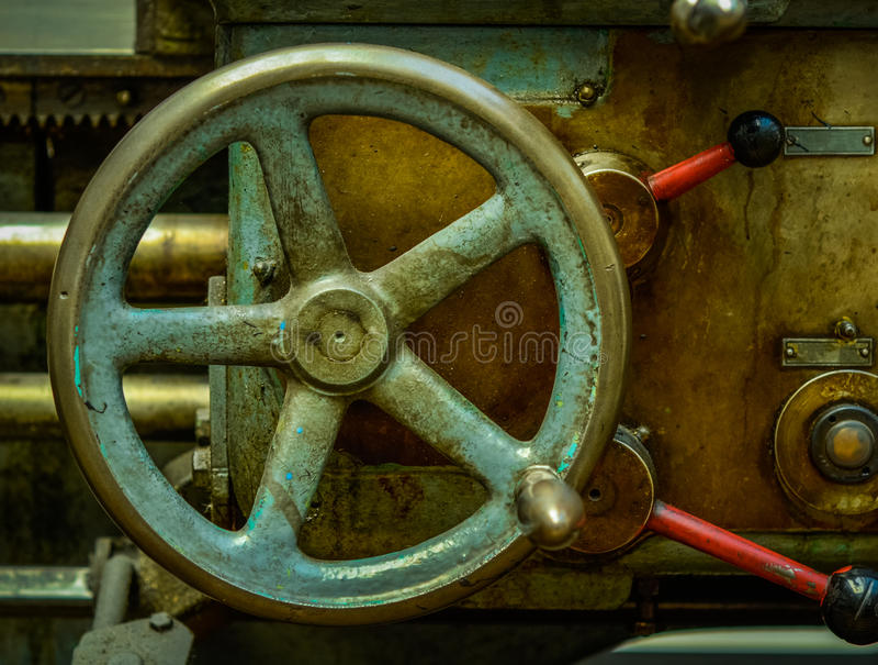 葡萄酒工业机械 库存图片