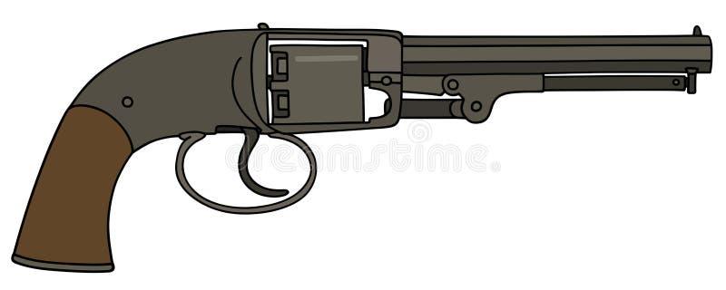 葡萄酒左轮手枪 皇族释放例证