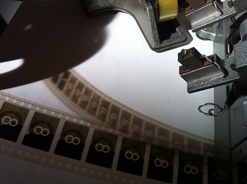 葡萄酒影片剪辑机器2 库存照片