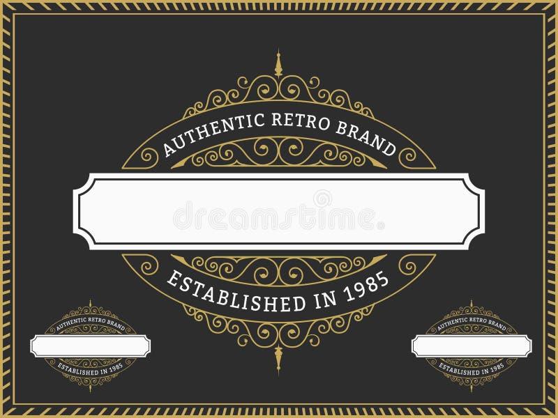 葡萄酒徽章和标签名牌,横幅的,邀请,商标,象征,食物菜单,贴纸,居住区,权威设计|| 皇族释放例证