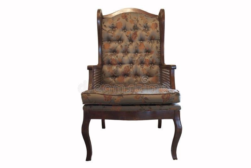 葡萄酒扶手椅子维多利亚女王时代南部美国风格 免版税库存照片