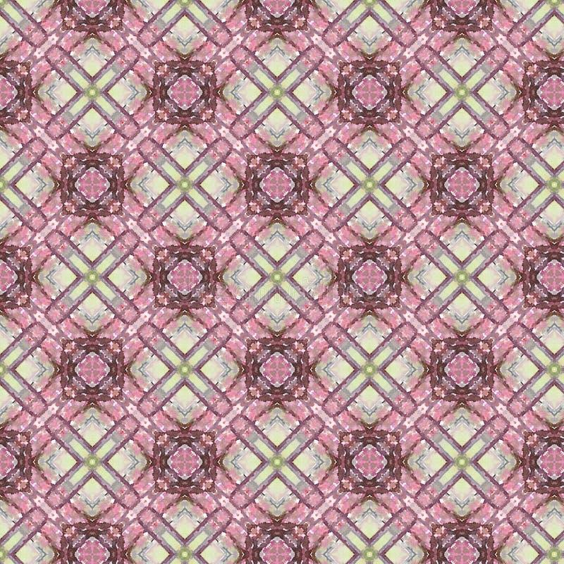 葡萄酒抽象无缝的样式,纺织品设计 皇族释放例证