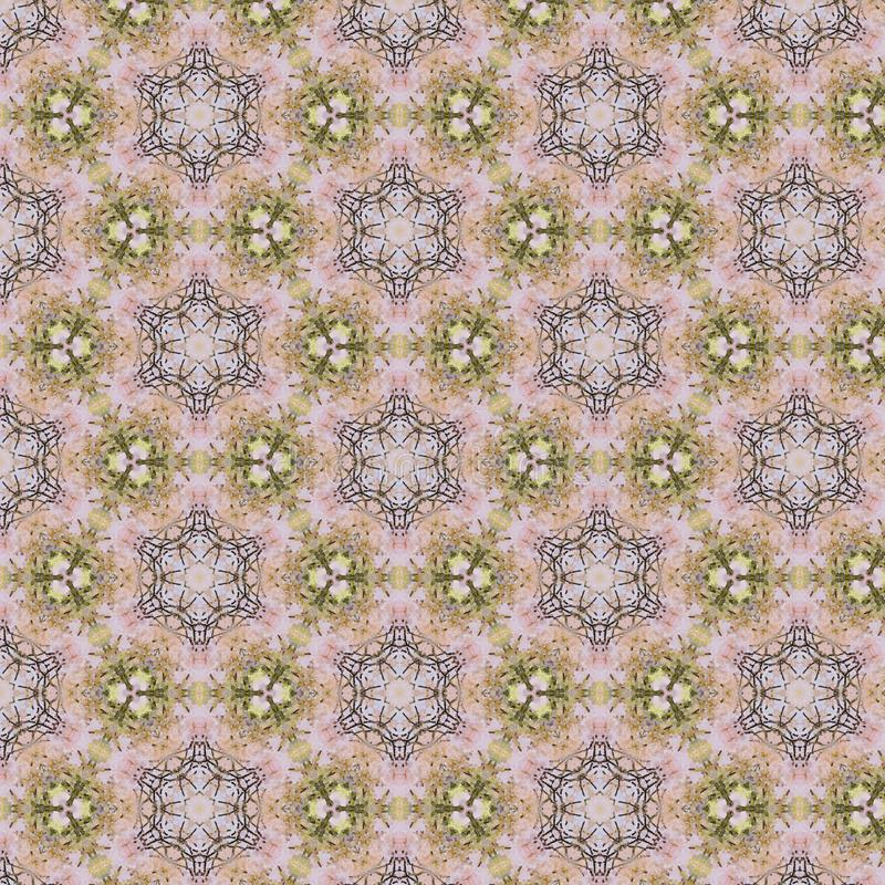 葡萄酒抽象无缝的样式,纺织品设计 向量例证