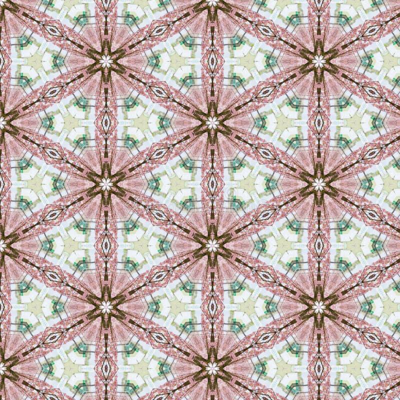 葡萄酒抽象无缝的样式,纺织品设计 库存例证